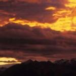 Sunset sur les Cimes
